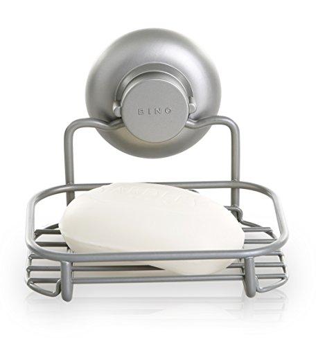 Lowest Price! BINO SMARTSUCTION Rust-Resistant Bronze Shower Caddy, Corner Basket