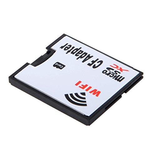 chenyang WiFi Adapter Speicherkarte TF Micro SD auf CF Compact Flash Card Kit für Digital Kamera