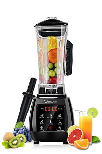 WantJoin Countertop Blender for Crushing Ice, Professional...