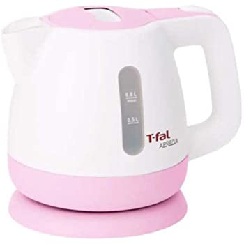 T-fal 電気ケトル アプレシア シュガーピンク 0.8L BF802922A