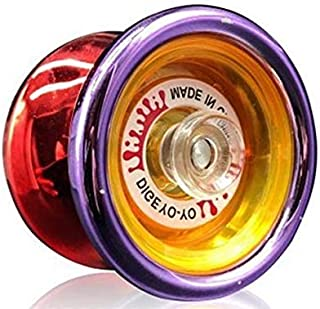 Yoyo ball high speed three bearing extreme competitive king yo-yo children 's educational toys, Red