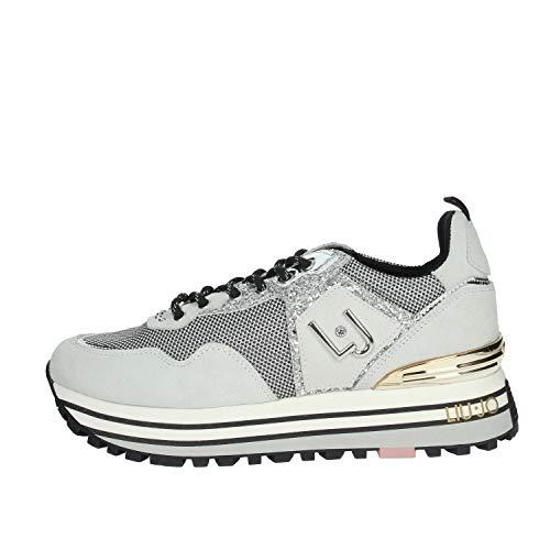 Liu Jo LJWMX, Zapatillas para Mujer, Blanco, 36 EU