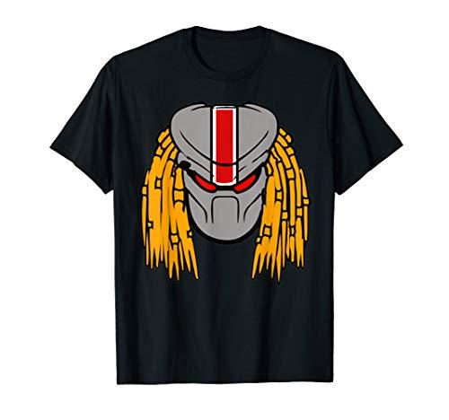 Predator Alien Head Unique Art T-shirt in 5 Colors for Adult, Child