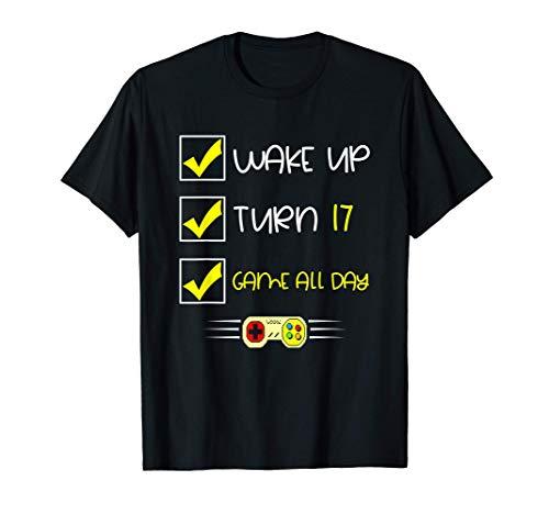 Despierta, turno 17, juego todo el día Camiseta