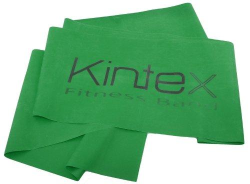 Kintex Fitnessband Grün (stark), Gymnastik-Band, Wiederstands-Band