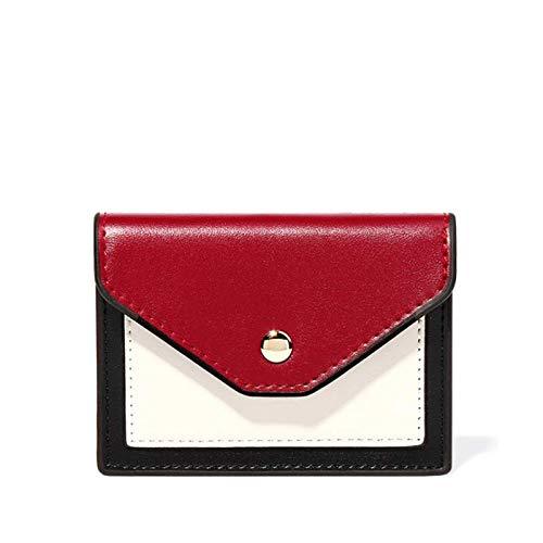 Eysee - Portamonete da donna, in pelle sintetica, con porta carte di credito Nero Nero 11.00cm (L) * 8.30cm (H) * 2.00cm (W)