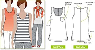 Style Arc Sewing Pattern - Annie`s Cami (Sizes 04-16) - Click for Other