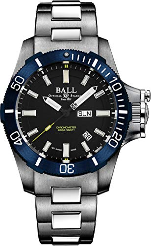 BALLWATCH [ボールウォッチ] [正規品] 腕時計 エンジニアハイドロカーボン サブマリン ウォーフェア ブルーベゼル DM2276A-S3CJ-BK 最大5年メーカー国際保証