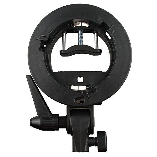 Godox S-type Bracket Bowens S Mount Holder for T+L Speed Ring Softbox Speedlite Softbox Beauty Dish Reflector Umbrella