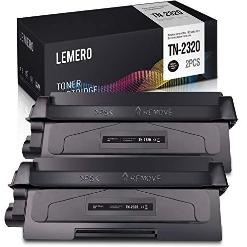 Lemero - Toner TN-2320, 5200 pagine, compatibile con Brother MFC-L2700DW DCP-L2520DW HL-L2340DW HL-L2300D MFC-L2720DW DCP-L2560DW DCP-L2500D HL-L2365DW L2360DN