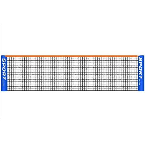 Tragbares 3-6 Meter Tennisnetz, Standard-Tennisnetz für Match-Training, Netz ohne Rahmen, Tennisschläger, Sportnetzwerk, Badminton (Nur Net), siehe abbildung, 5 m