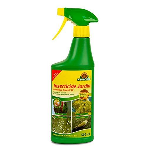 Anti pucerons et insectes Insecticide Jardin prêt à l'emploi à l'extrait de pyrèthre UAB 500 ML