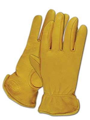 Magid Men's Pro Grade Collection Premium Grain Deerskin Gloves