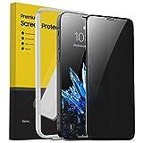 BENKS 1 Pezzi Privacy Vetro Temperato per iPhone 12 Mini 2020, 3D Copertura Totale, Anti-Spia Pellicola Protettiva con Rete Antipolvere, Protezione Schermo per iPhone 12 Mini - 5,4 Pollici