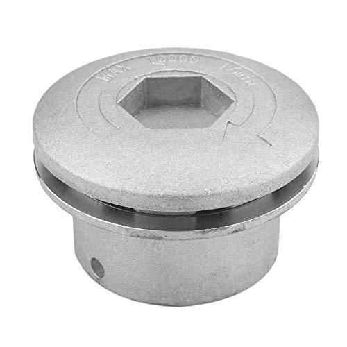 DERCLIVE - Juego de cabezales de corte de cabeza de aluminio universal para cortador de césped