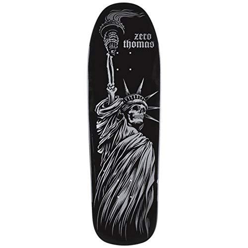 Zero Skateboards Skateboards Thomas Liberty Gold Death Black 9.5 x 31.72 WB 14.25