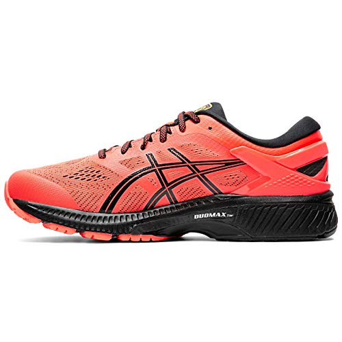 Asics Gel-kayano 26, Men's Running Shoes, Flash Coral / Black, 5 UK (39 EU)