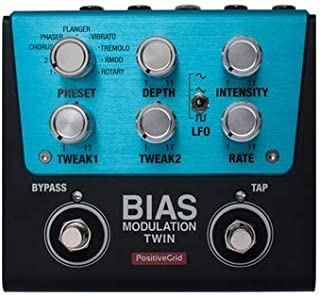 Positive Grid BIAS Modulation Twin Guitar Effects Pedal