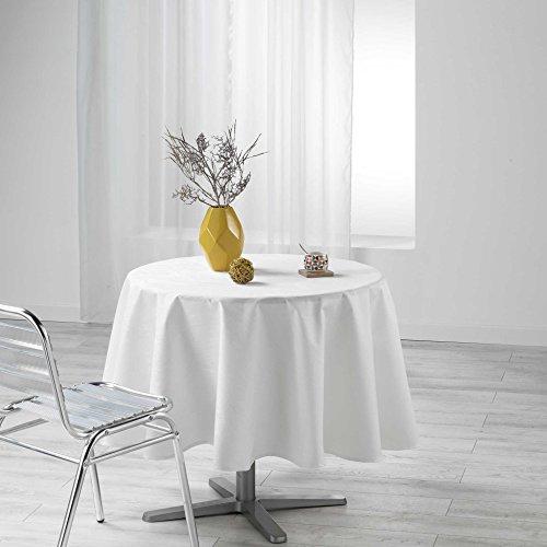 douceur d'intérieur nappe ronde (0)180cm enduit liany naturel