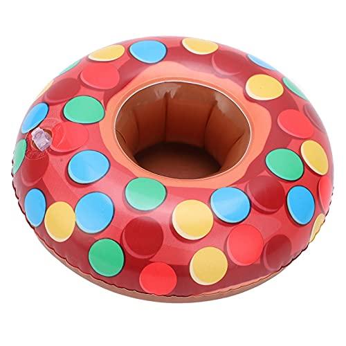 LZKW Soporte Inflable para Bebidas, flotadores inflables para Piscina, 10 Piezas, portátil, Bonito y Decorativo para Juguete de baño Bany para Fiesta en la Piscina de Verano