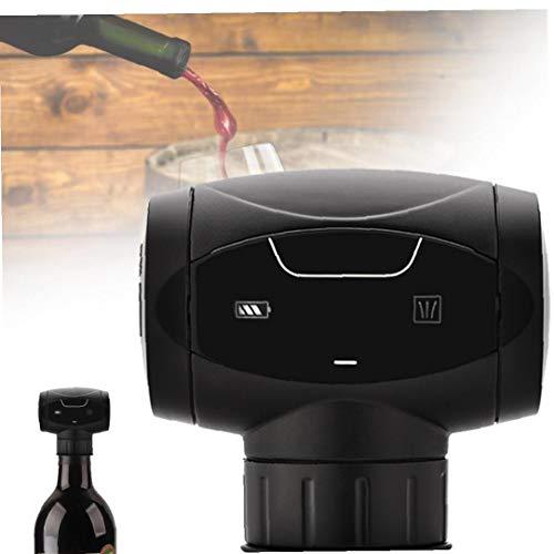DierCosy Vino automática del conservante, portátil Inteligente de la Botella de Vino rápido de Ahorro eléctrico del Vino Botella de vacío Regalos Tapones Accesorios para Vino