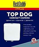 FLUSHDADDY CIST10 Top Dual Flush Cistern Bottom Entry, 6 Litre