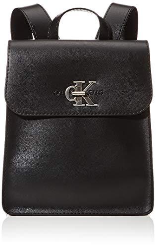 ck jeans CKJ Mono Hardware, Mochilas para Mujer, Negro, OS