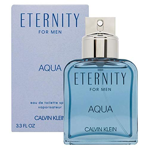 Calvin Klein ETERNITY for Men AQUA Eau de Toilette, 3.4 fl. oz.