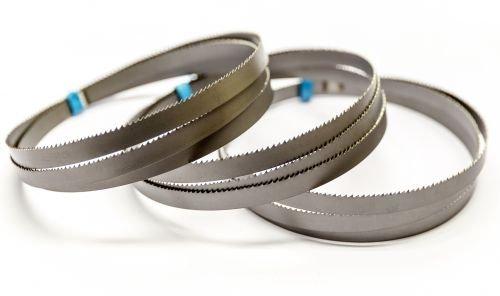 3 x bimetaal zaagband 835 x 13 x 0,5 mm met 14/18 tanden voor accu bandzaag Makita DPB181RME