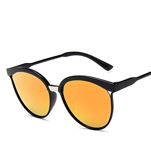 ZAQXSW Gafas de Sol de Gato Ojo de Las Mujeres Retro Sombras de conducción de Las Mujeres de la Vendimia de los vidrios Oculos Femenino 15940, Lentes (Color : C5)