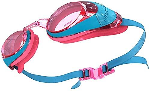 Gafas De Natación Gafas De Natación Con Espejos Protección Uv Antivaho Sin Fugas Tres Artículos Gafas De Natación Con Funda Protectora Gratis Para Adultos Hombres Niños Niños Niños-uno Gafas Piscina