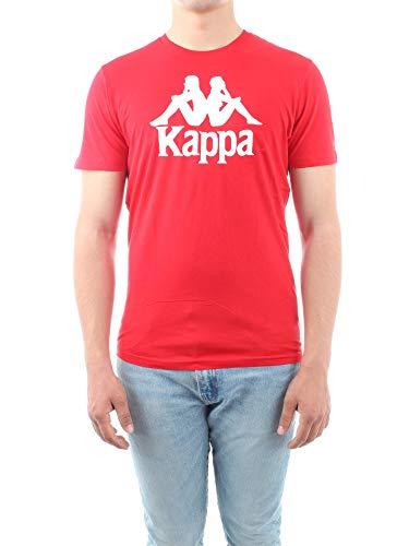 Kappa Authentic ESTESSI Slim T-Shirt Hombre Rojo 303LRZ0984