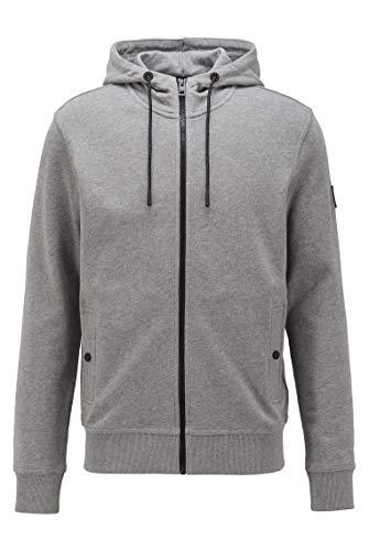 BOSS Herren Zounds 1 Kapuzen-Sweatshirt aus Baumwoll-Terry
