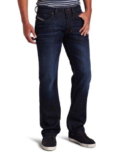 Diesel Men's Larkee Regular Straight-Leg Jean 0073N, Denim, 27x32