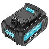 Boetpcr 18V 5.0Ah Batería de Reemplazo para DeWalt DCB184 DCB200 DCB182 DCB180 DCB181 DCB182 DCB201 con indicador LED
