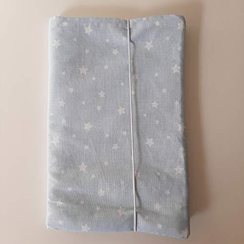 TILA - Portapañales y toallitas para bebé ESTRELLAS CELESTE
