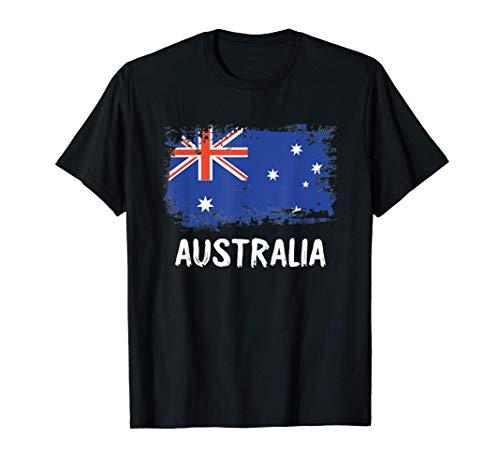 Australien Flagge Australia Fahne Fan Geschenk T-Shirt