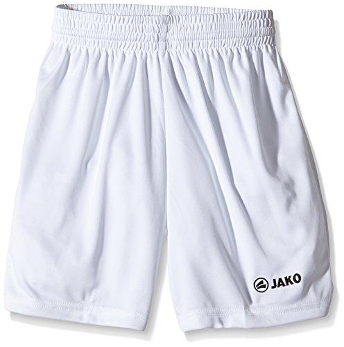Jako Kinder Sporthose Manchester Shorts, Weiß, 5-6 Jahre (Herstellergröße: 1)