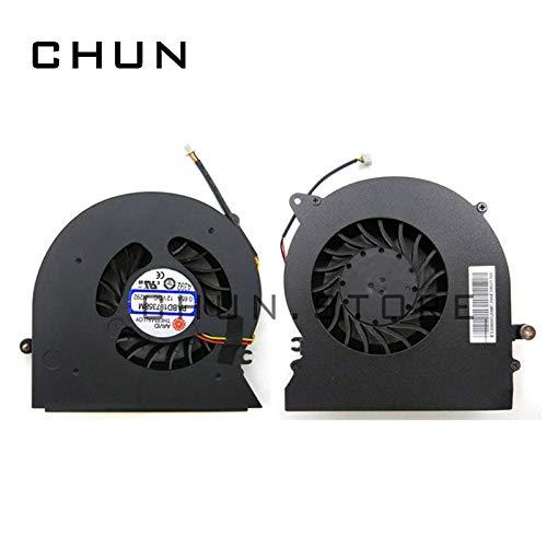 FCQLR Nuevo CPU Ventilador compatibles para MSI MS-1785 GT72 GT72S GT72VR 6RE 6RD 7RE 7RD enfriamiento Ventilador