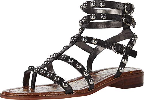 Sam Edelman Women's Eavan Sandal, Black, Numeric_7_Point_5