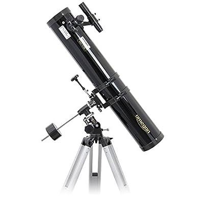 Optimal pour entrer dans le monde de l'astronomie : le télescope collecte 265 fois plus de lumière que l'œil. Découvrez les cratères lunaires, Saturne avec ses anneaux, Mars, le nid d'étoiles de la nébuleuse d'Orion, pour ne citer que quelques exempl...