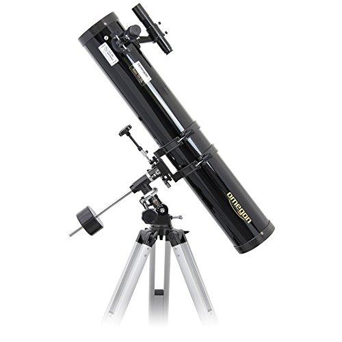 Omegon Teleskop N 114/900 EQ-1, Spiegelteleskop mit 114mm Öffnung und 900mm Brennweite