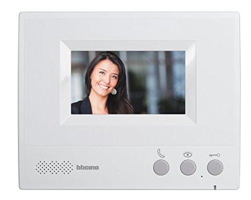 BTicino 315311 Kit Video con 4 Fili Monofamiliare, Display da 4.3', Grigio
