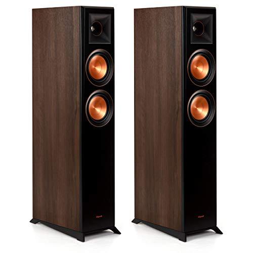 Review Of Klipsch RP-5000F Floorstanding Speakers (Walnut Pair)