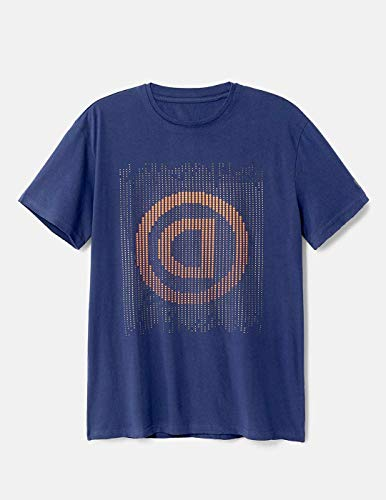Desigual Camiseta Kendal Azul para Hombre.