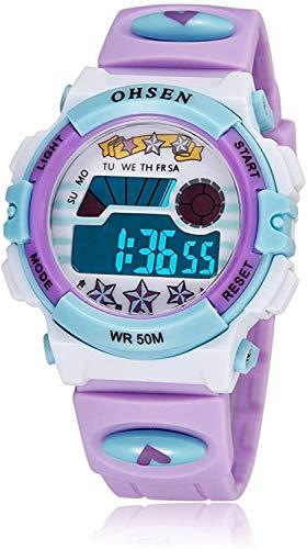 Fitness Tracker Activity Tracker Herzfrequenzmesser Blutdruckmessgerät SPO2-Monitor Wasserdichter Schlafmonitor Kalorien-Schrittzähler Uhr Lila