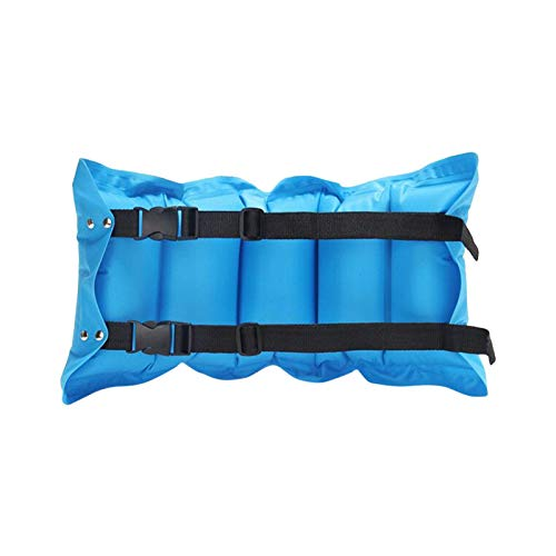 SYCOOVEN Swimming Belt, Floatation Belt for Aquatic Exercise, Low-Impact Workout, Beach Inflatable Floating Training Aids for Beginners