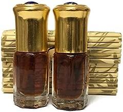 Al Khalis-P Oud Oil Agarwood Arabian Oudh Dehn Perfume Attar Cambodia Fragrance Pure 2x3 ml