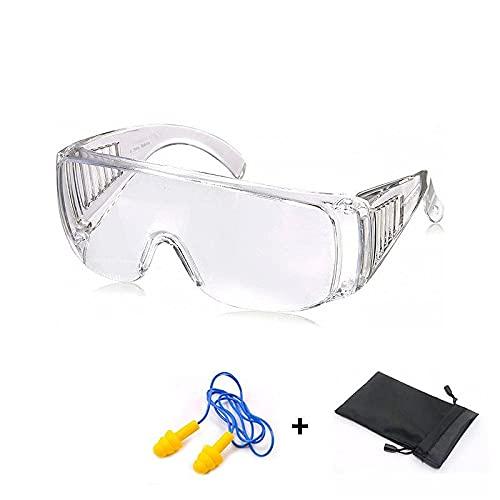 Gafas de Seguridad Resistentes a Arañazos - Gafas Protección Trabajo - Gafas Protectoras a Prueba de Polvo - Para Uso Industrial, Agricola o de Laboratorio