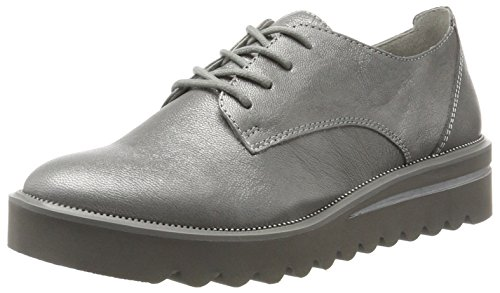 Tamaris Damen 23713 Sneaker, Silber (Silver Crack), 38 EU